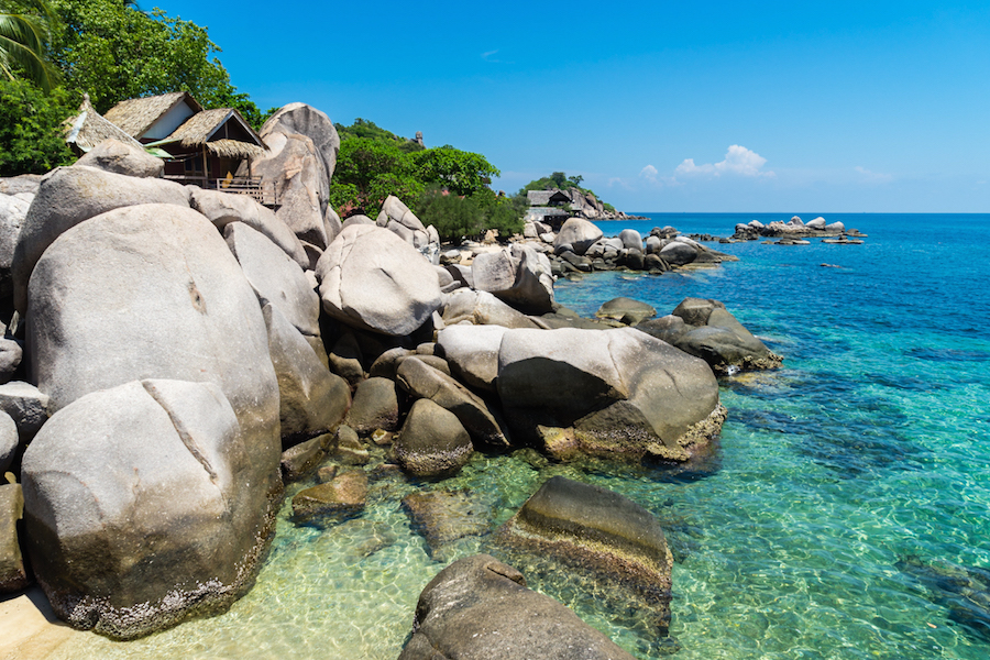 Best Island Beaches For Partying Mykonos St Barts: Koh Tao's Best Beaches
