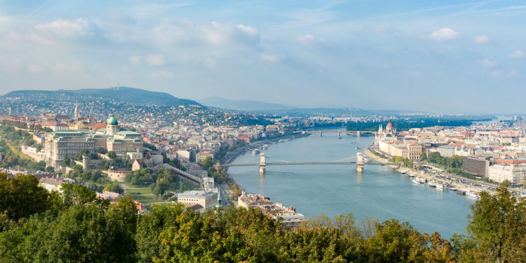 budapest palace panorama